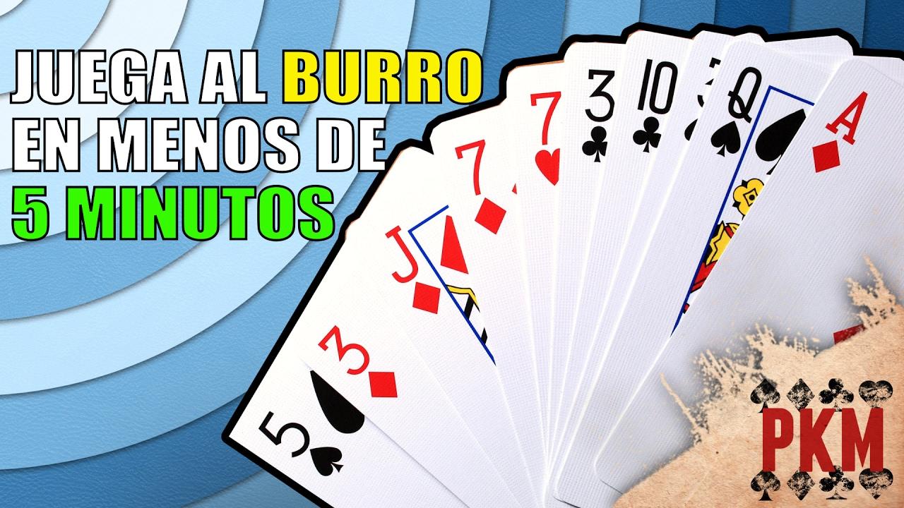 Burro Castigado En 5 Minutos Juegos De Cartas Pkm Youtube