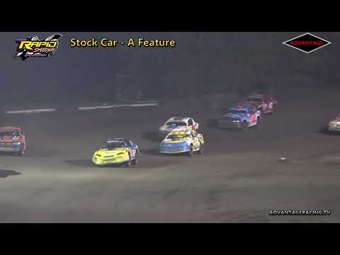 Stock Car A Feature - Rapid Speedway - 8/10/18