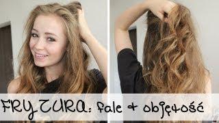 FRYZURA: fale + objętość (szybka i prosta fryzura)