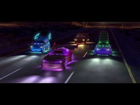 "Cars Movie Scene ""Delinquent Road Hazards"" (4K)"