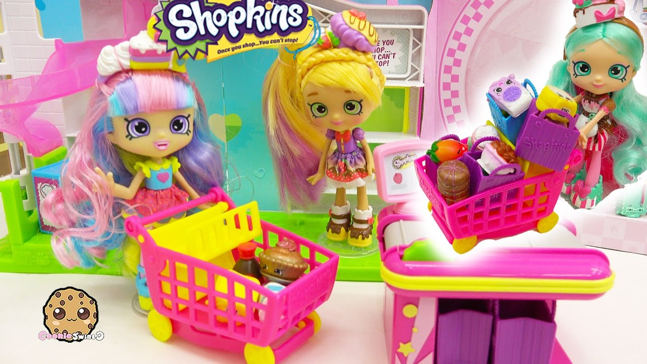 Shoppies Dolls Go Shopping At Small Mart For Season 6 Chef
