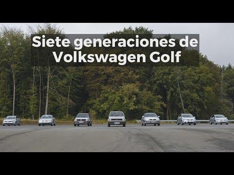 Siete generaciones de Volkswagen Golf