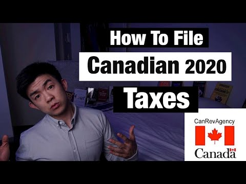 How To File Taxes In Canada 2020