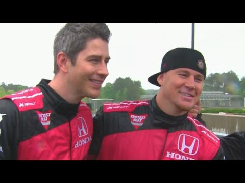 Channing Tatum's First PostSplit Appearance Is With ... 'Bachelor' Arie Luyendyk Jr.
