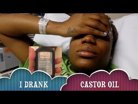 I Drank Castor Oil To Induce My Labor 2018 Youtube