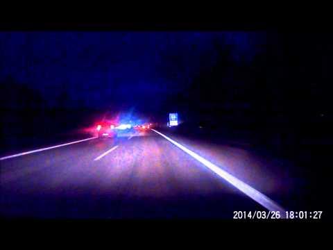 Rollei CarDVR 70 Autokamera  bei Nacht. By Night. Test KFZ Dashcam Car DVR Dash cam