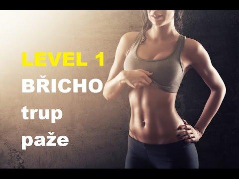 Břicho trénink 5 cviků na břišní svaly a ruce