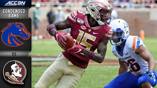 Boise State Vs. Florida State Condensed Game   Acc Football 2019-20