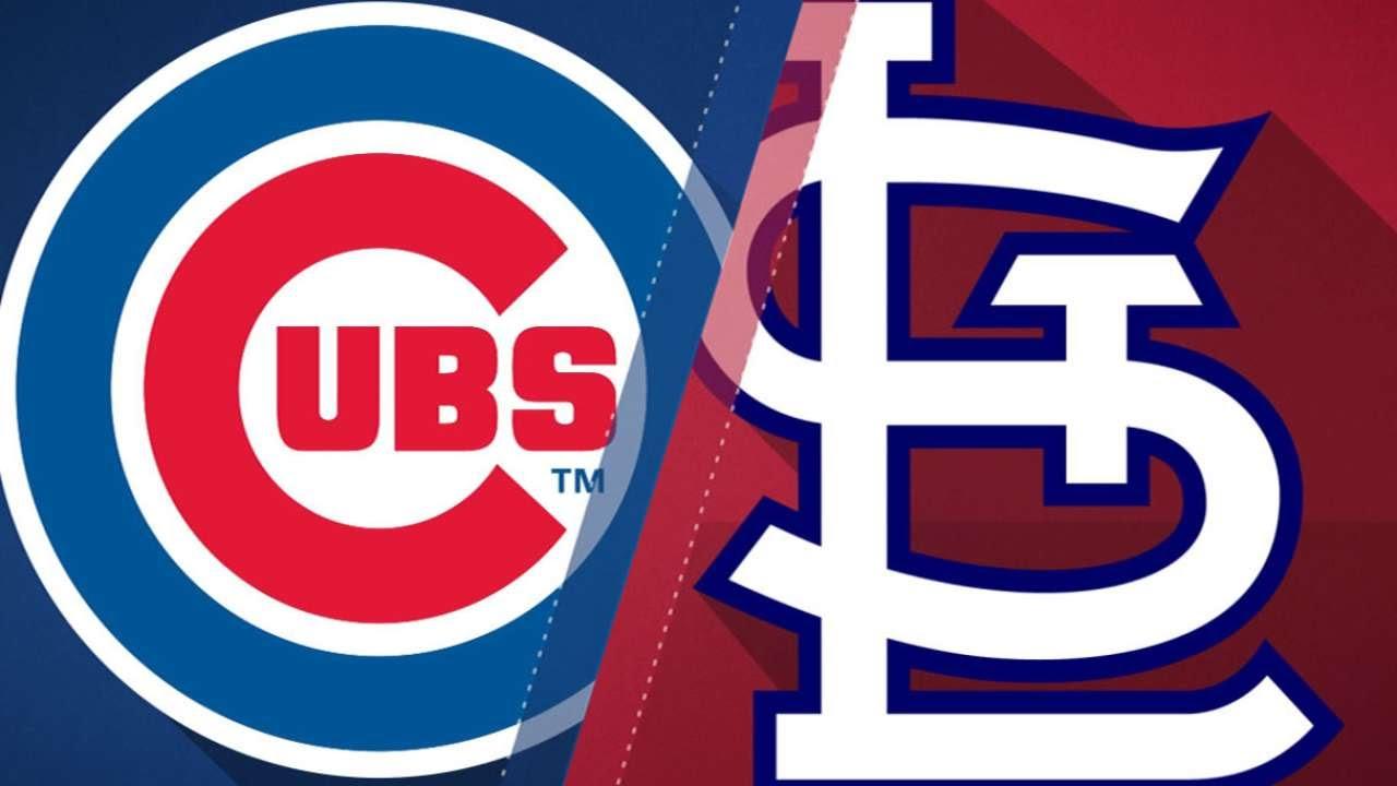 Schwarbers Homer Lifts Cubs Over Cardinals