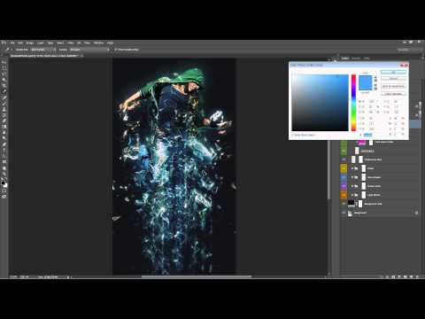 Fractal Photoshop Effect Tutorial