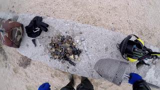 ◐ Подводный поиск золота на Азове. 2 ДНЯ КОПА. ЗОЛОТО, СЕРЕБРО, МОНЕТЫ.