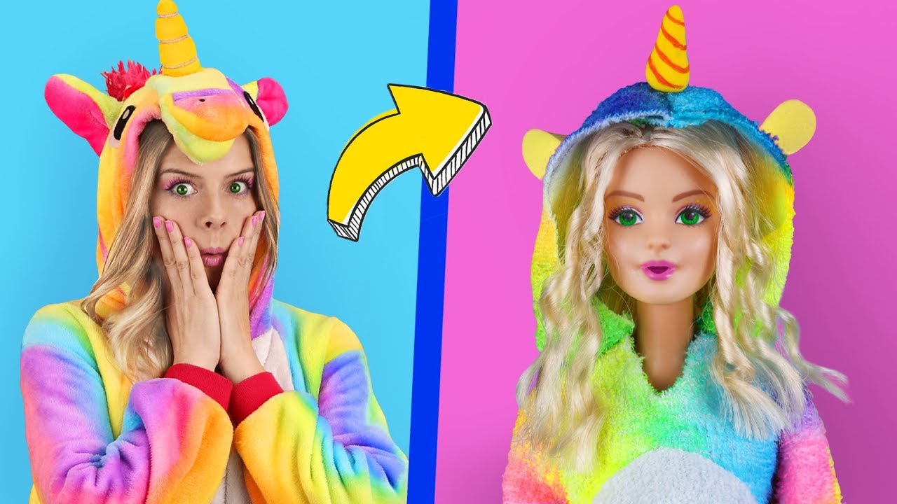 6 Clever Barbie Hacks And Lol Surprise Hacks Troom Troom Characters As Dolls