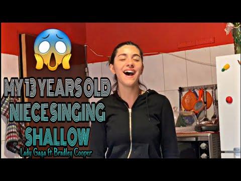 My 13 year old niece singing Shallow Lady Gaga ft Bradley Cooper - A Star is Born