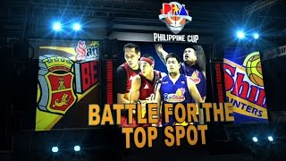 Highlights: San Miguel vs. Rain or Shine | Philippine Cup 2015-2016