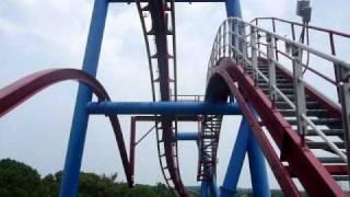 Montanha Russa do Superman no Six Flags