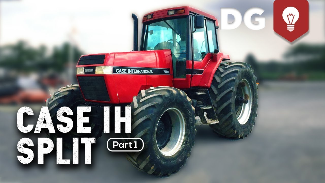 How To Split a Case IH Tractor (7140 Part 1)