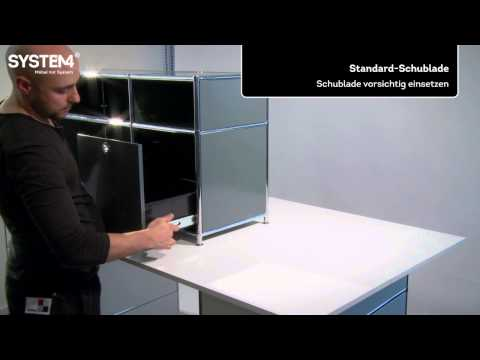 selbsteinzug schubladen videolike. Black Bedroom Furniture Sets. Home Design Ideas