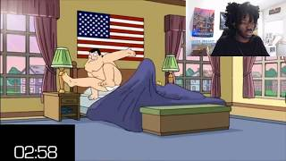 American Dad Speedrun  (FACE CAM) WR PLUS JOE AND RODGER DLC ANY% NEW MISSIONARY GLITCH!