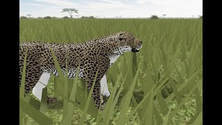 ROBLOX|Testing A|New Leopard Animations