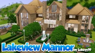 The Sims 3 - House Building Hd - Lakeview Manor