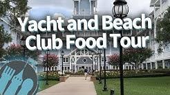 Disney World Food Tour: Yacht and Beach Club Resorts!