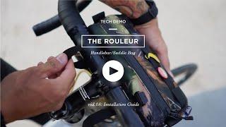 'The Rouleur' Handlebar Bag - Installation Guide