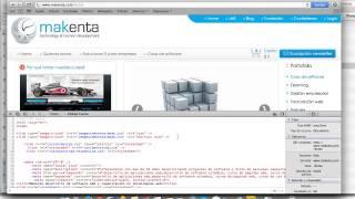 Cómo ver el código HTML de una página web en  Safari 6.0.5