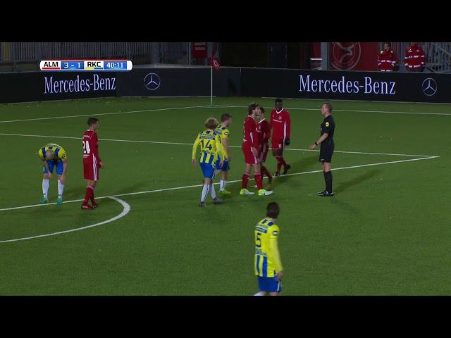 Samenvatting: Almere City FC - RKC (3-2)