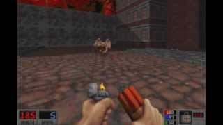 Blood (Monolith 1997) Walkthrough - E3M1 : Ghost Town
