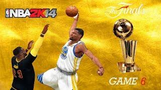 NBA 2K14 PC 2017 Finals Updated Rosters │Cavaliers vs Warriors│Game 6│ ESPN MOD HD
