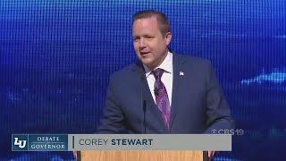 Corey Stewart Wins 1st Virginia GOP Gubernatorial Debate