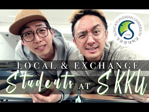 BEING A STUDENT AT SKKU | ASK KOREAN FRIENDS