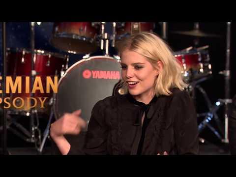 Bohemian Rhapsody - Itw Rami Malek, Joseph Mazzello, Lucy Boynton, Gwilym Lee (official video)