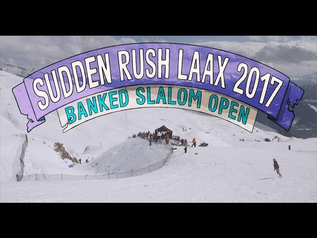 Banked Slalom LAAX 2017