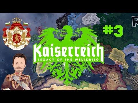 Tsarist Bulgaria | 3 | KaiserReich | Hearts of Iron 4