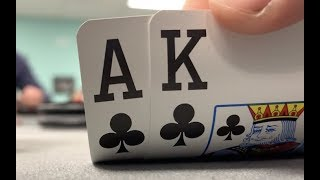 Making ACE-KING Great Again!! RUNNING HOT!! Poker Vlog EP 88