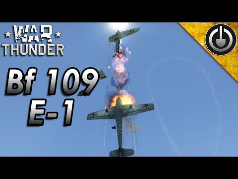 War Thunder Bf 109 E-1 Gameplay and Review.
