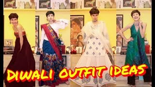 Diwali Outfit Ideas   10 Indo-Western Looks !!