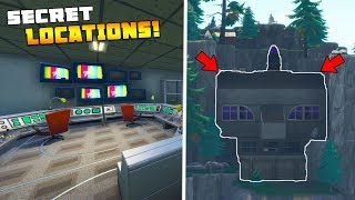 *ALL NEW* SECRET UNDERGROUND BUNKER LOCATIONS! (Fortnite Battle Royale)