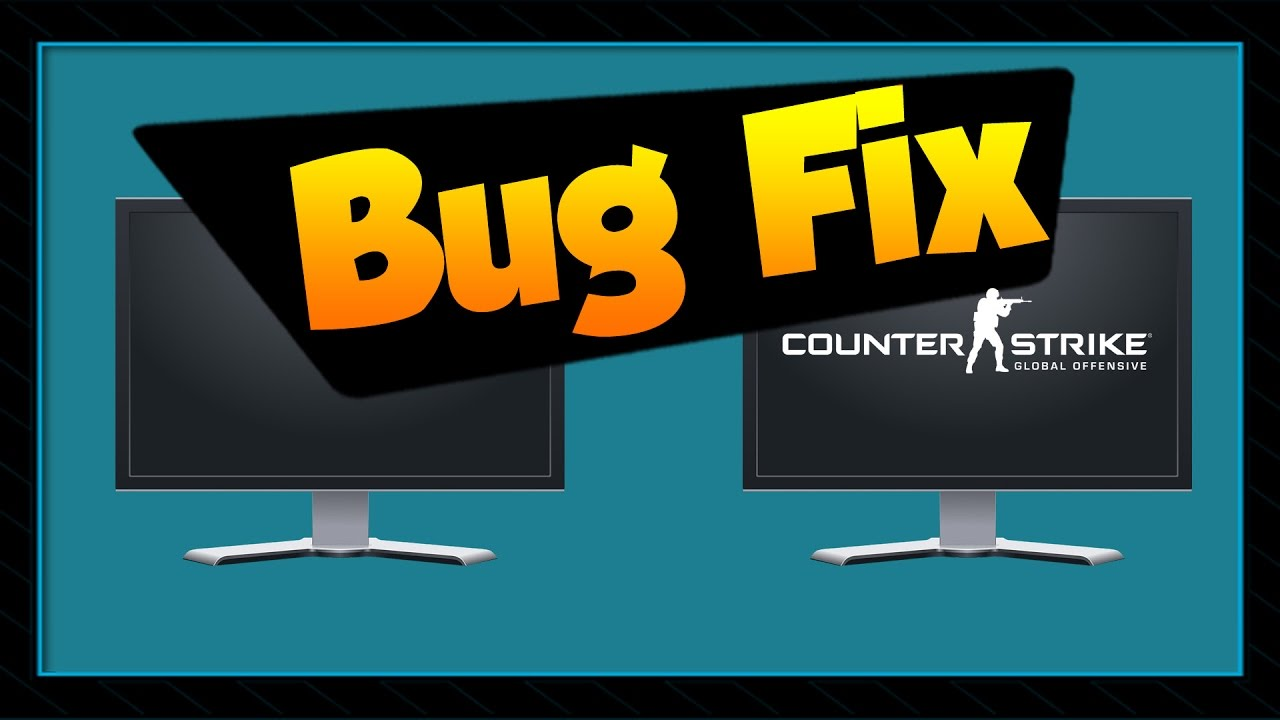 CS:GO | How to fix issue while using 2 monitors