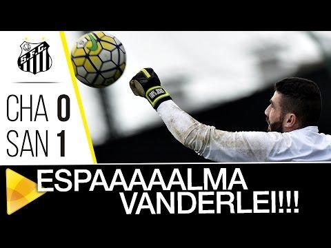 Vanderlei fecha o gol e garante a vitória do Santos contra a Chape