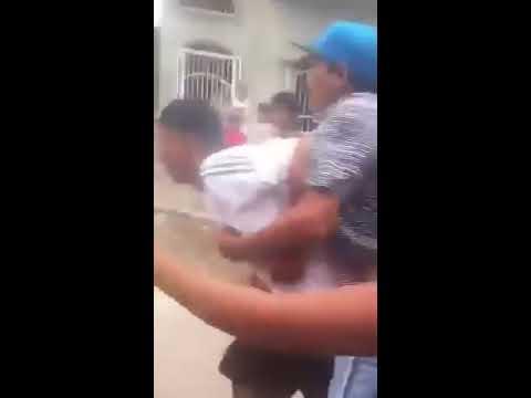 balacera en el barrio 4 de abril puerto bolivar