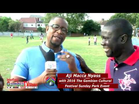 InterFace Gambia on Ben TV Wed 9th Nov 2016 The Gambia Sunday Park Festival with Aji Macca & Faks