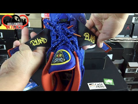 Air Jordan 8 VIII DB Doernbecher (Caden) Review On Foot & Glow Test