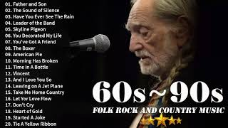 BEST OF 70s FOLK ROCK AND COUNTRY MUSIC Kenny Rogers, Elton John, Bee Gees, John Denver - 60s 70s 80s 90s live concert