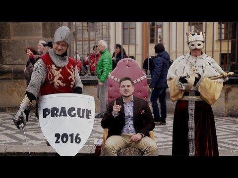 Владимир Жилин - промо ведущего в Праге.