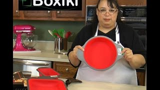 Boxiki Non-Stick Silicone Bakeware Set Test & Review | Amy Learns to Cook