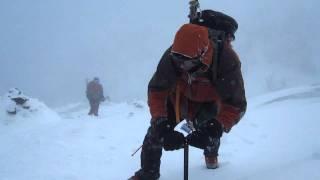 Climbing Mt. Haystack 2-11-12