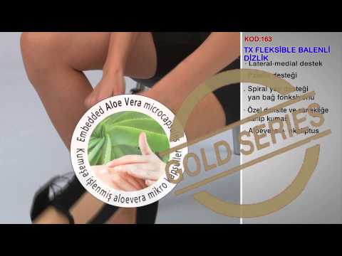 TX Fleksible Balenli Dizlik Kod 163