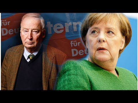 Germany's crisis: now anti-migrant afd become second largest party in shock poll